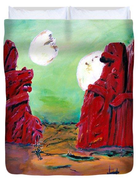 Barsoom Duvet Cover