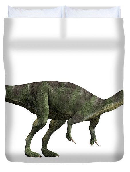 Baryonyx Walkeri, Early Cretaceous Duvet Cover by Nobumichi Tamara