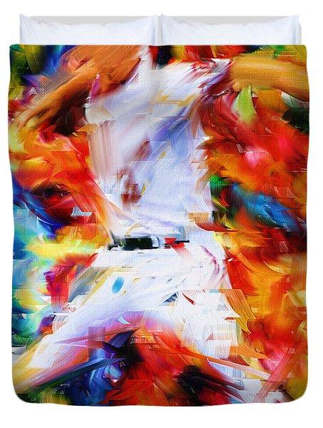 Baseball  I Duvet Cover by Lourry Legarde