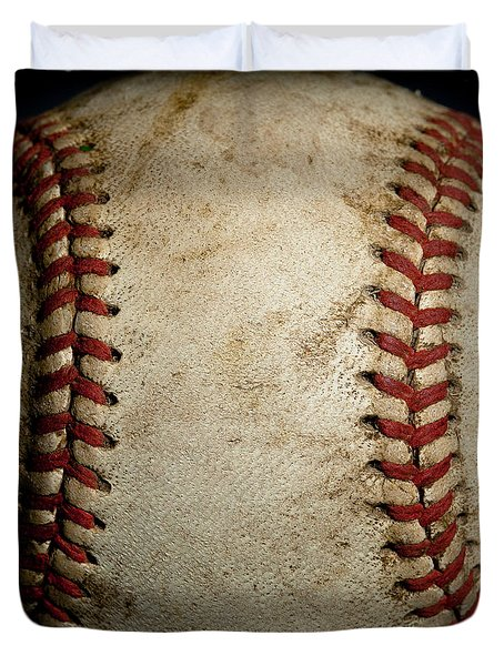 Baseball Seams Duvet Cover