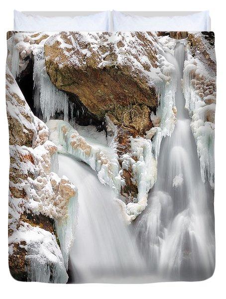 Bash Bish Falls Duvet Cover by Bill Wakeley