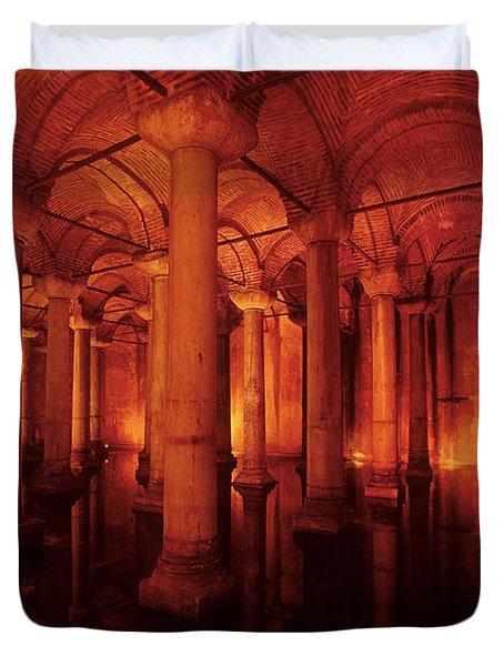 Basilica Cistern Duvet Cover