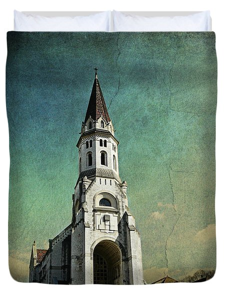 Basilica Of The Visitation Duvet Cover