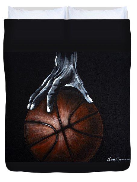 Basketball Legend Duvet Cover