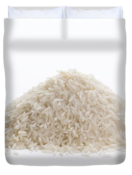 Duvet Cover featuring the photograph Basmati Rice by Lee Avison
