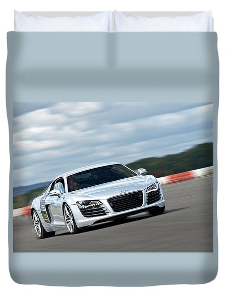 Bat Out Of Hell - Audi R8 Duvet Cover