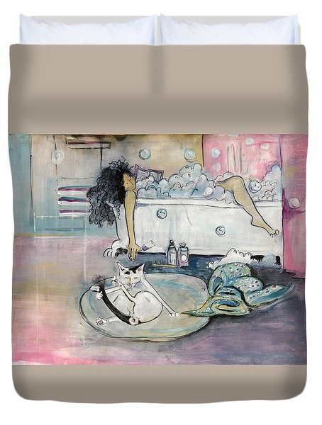 Bath Time Duvet Cover
