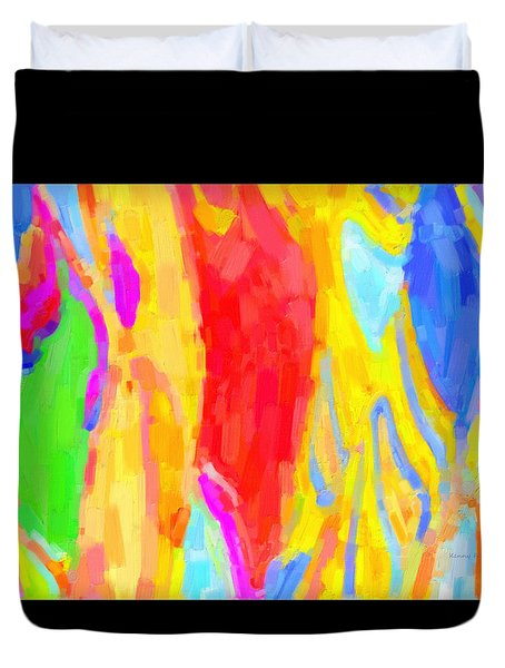 Bathing Beauties Duvet Cover by Kenny Francis
