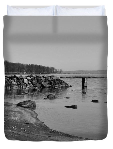 Bathing Jetty 2 Duvet Cover