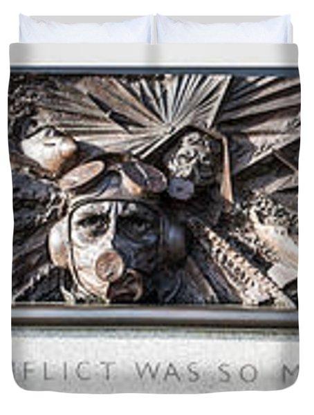 Battle Of Britain Monument London Duvet Cover