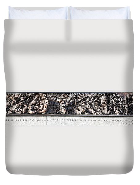 Battle Of Britain Monument London Duvet Cover
