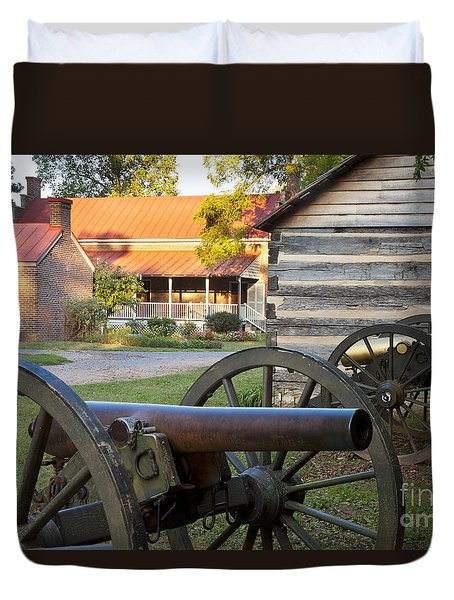 Duvet Cover featuring the photograph Battle Of Franklin by Brian Jannsen