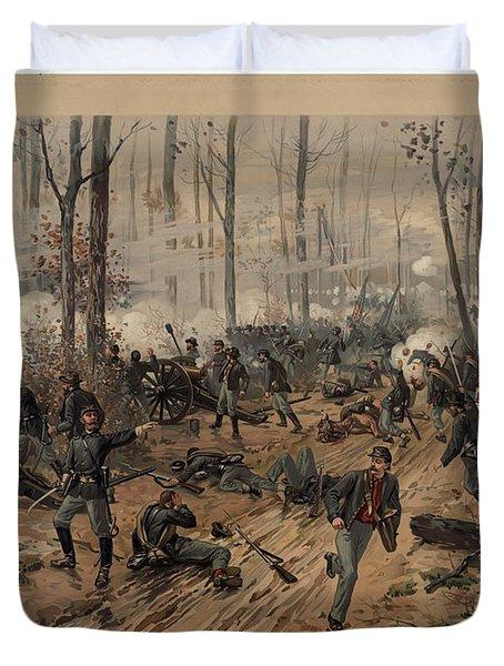battle of Shiloh Duvet Cover