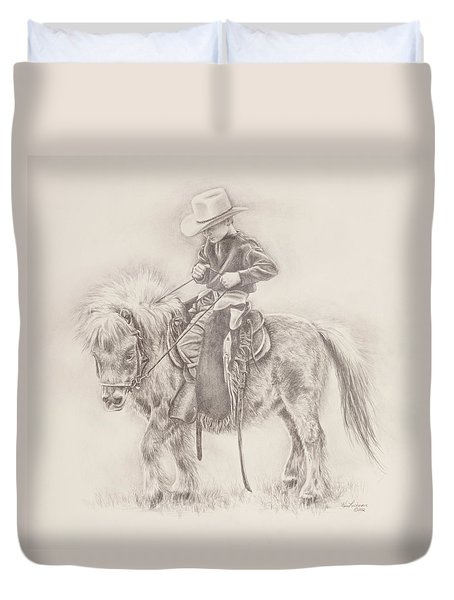 Battle Of Wills Duvet Cover