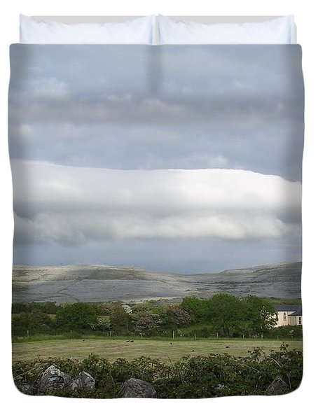 Baughlyvann Clouds Duvet Cover