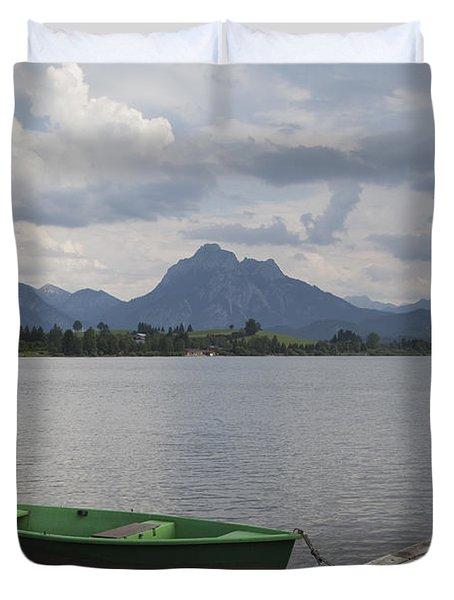 Bavarian Lake Duvet Cover
