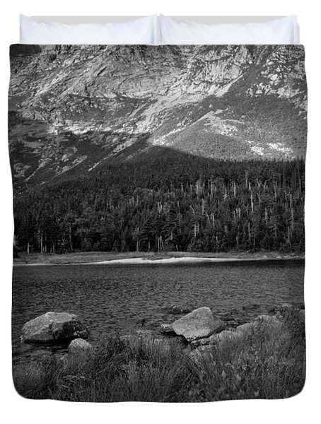 Duvet Cover featuring the photograph Baxter State Park by Alana Ranney