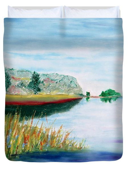 Bay Away Duvet Cover