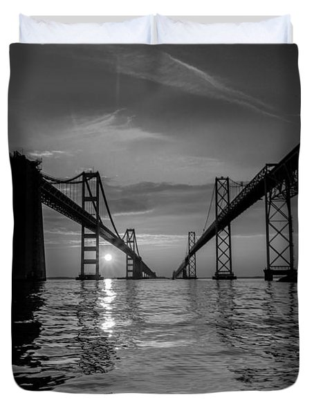 Bay Bridge Strength Duvet Cover