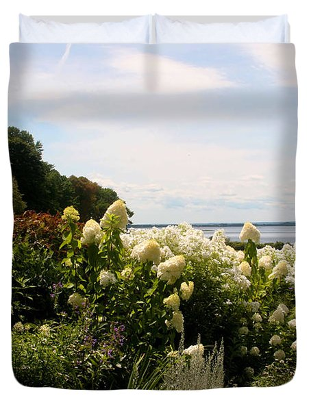 Bay View Bristol Rhode Island Duvet Cover by Tom Prendergast