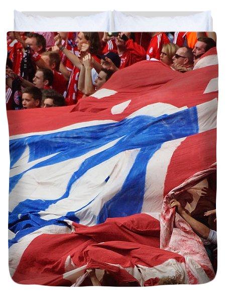 Bayern Munich Fans Duvet Cover