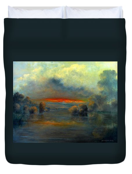 Bayou Evening 22x28 Duvet Cover
