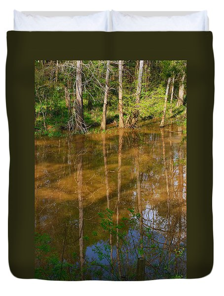 Bayou Reflections Duvet Cover