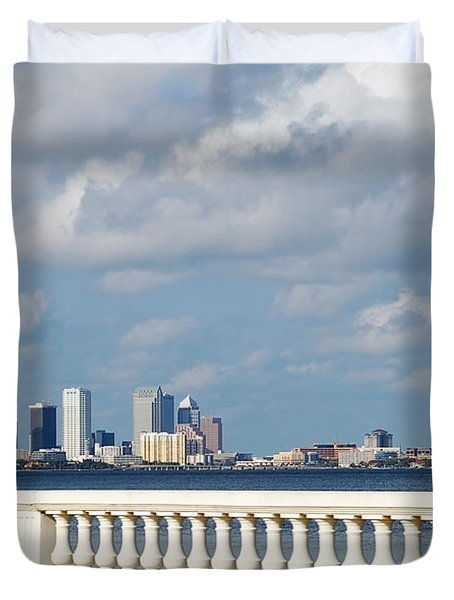 Bayshore Duvet Cover by Aimee L Maher Photography and Art Visit ALMGallerydotcom