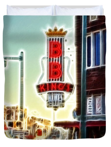 Bb King Club Duvet Cover