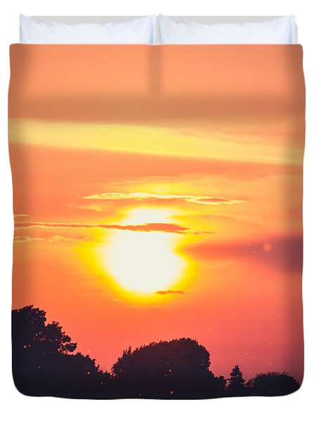 Be Grateful Duvet Cover