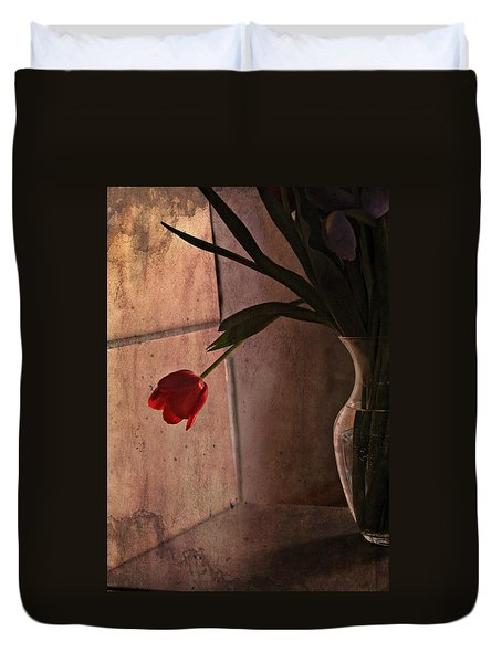 Duvet Cover featuring the photograph Be My Valentine by Katie Wing Vigil