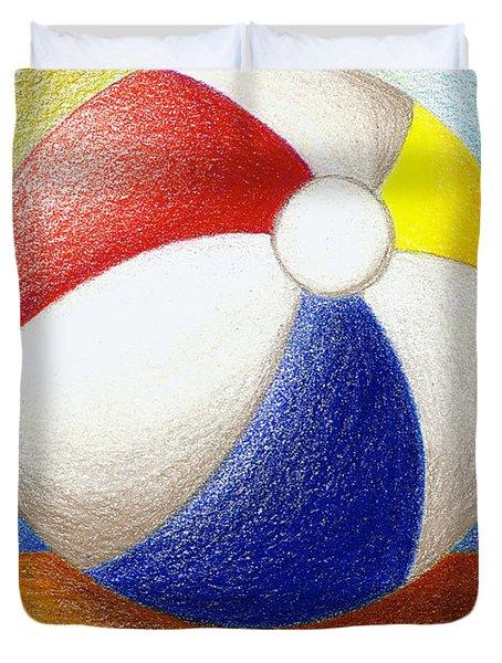 Beach Ball Duvet Cover