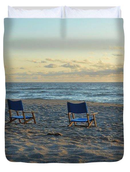 Beach Boardroom Duvet Cover