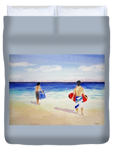 Beach Boys Australia Duvet Cover