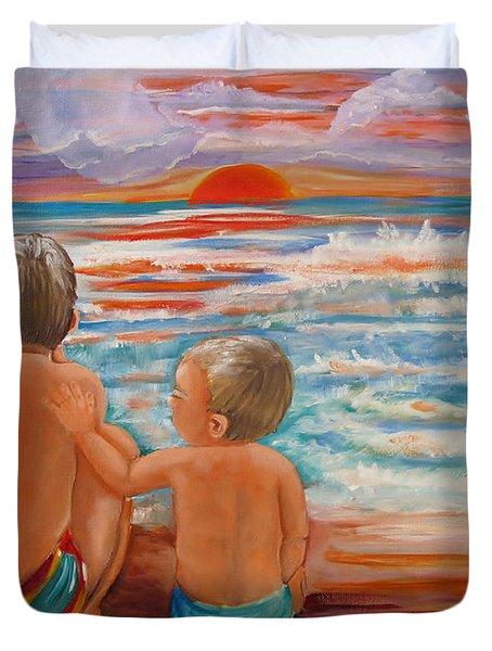 Beach Buddies II Duvet Cover