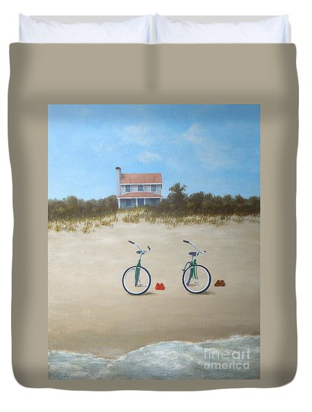 Beach Buddies Duvet Cover