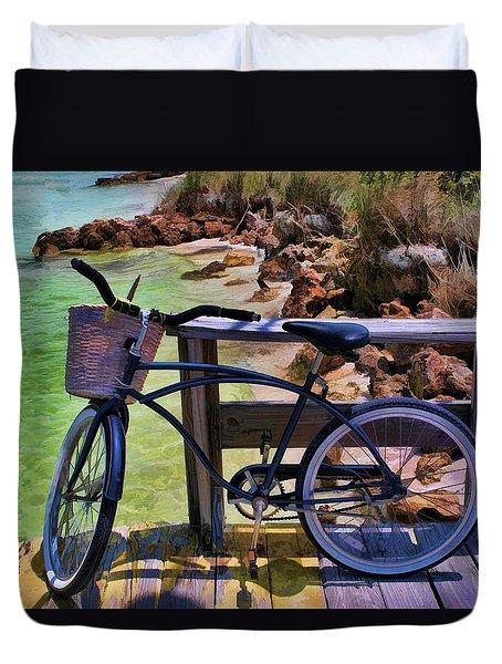 Beach Buggy-bike Duvet Cover