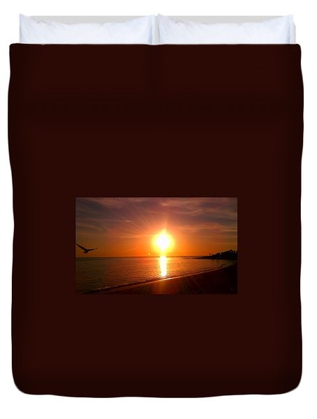 Beach Duvet Cover by Chris Tarpening