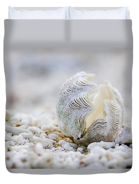 Beach Clam Duvet Cover