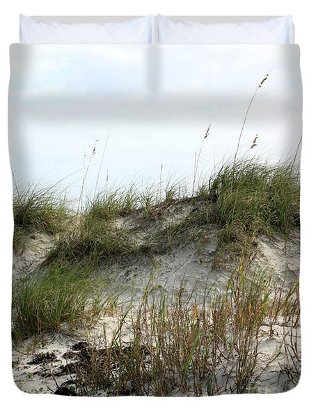 Beach Dune Duvet Cover by Chris Thomas
