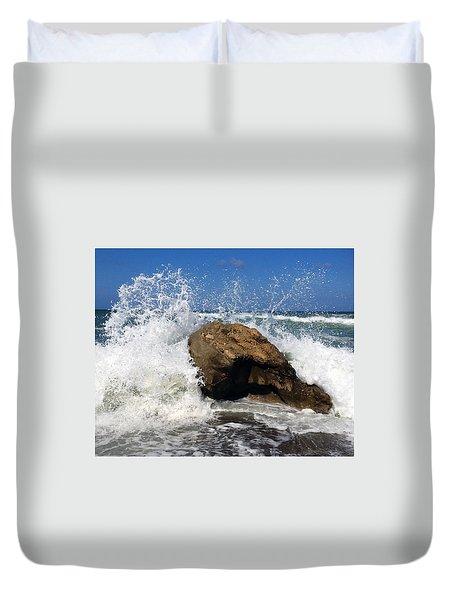 Beach Greece Duvet Cover