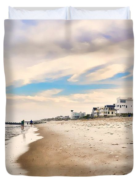 Beach Haven Duvet Cover