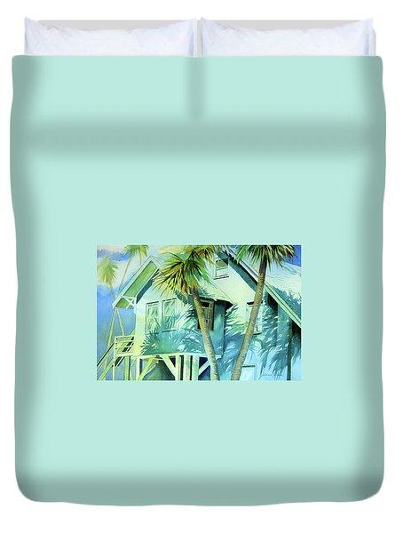 Beach Cottage Duvet Cover