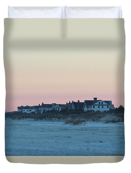 Beach Houses Duvet Cover
