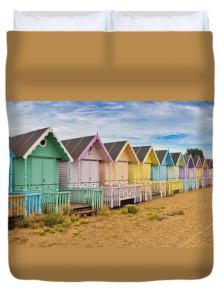 Beach huts photograph by gary eason for Model beach huts