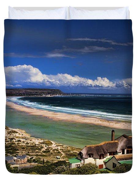 Beach In Noordhoek South Africa  Duvet Cover