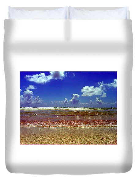 Beach Duvet Cover by J Anthony