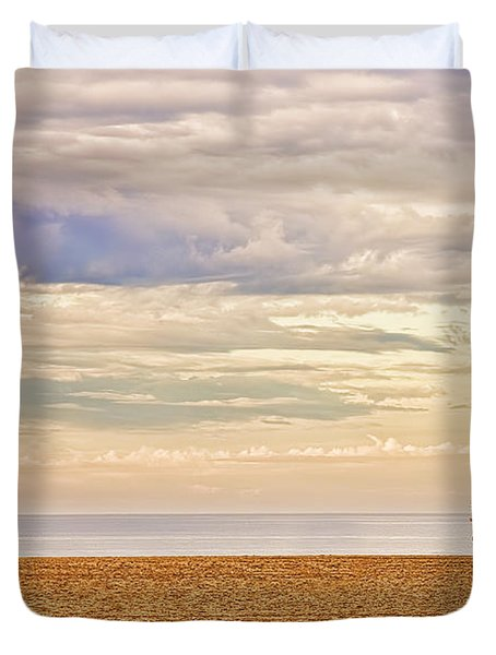 Beach Jogger Duvet Cover
