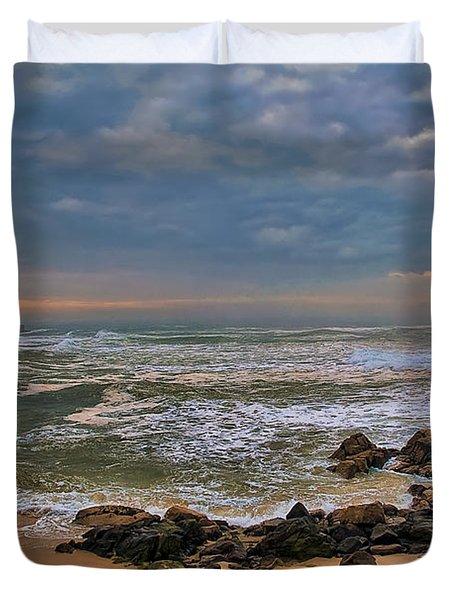 Beach Landscape Duvet Cover