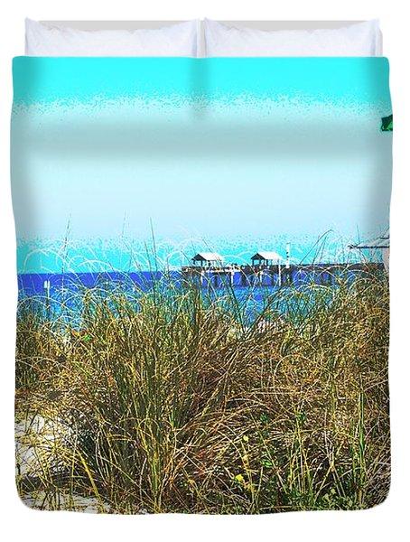 Beach Serenity Duvet Cover